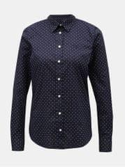 796bbc78873 Gant tmavě modrá dámská puntíkovaná košile