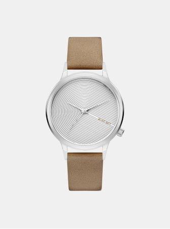 Komono dámské hodinky s béžovým koženým páskem Lexo Deco