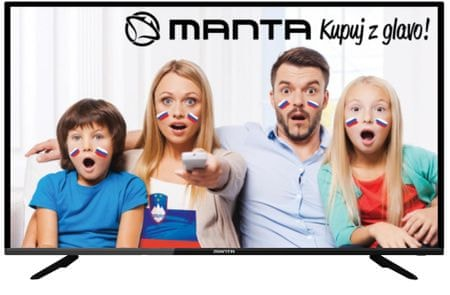 Manta LED TV sprejemnik 40LFA59L, Android 7.1, Smart, WiFi