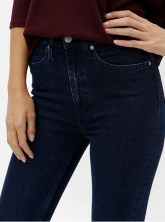 afc29763911 Calvin Klein Jeans modré dámské skinny džíny s vysokým pasem XL ...