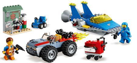 """LEGO Movie 70821 Emmetova in Bennyjeva delavnica """"Postavi in popravi""""!"""