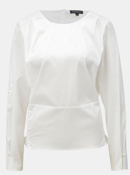 Selected Femme bílá halenka se zavazováním M aa18de1fe0
