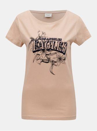 Značka  Jacqueline de Yong Náš kód  100003136591. růžové tričko s potiskem  Chicago XS 059d9785da