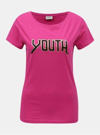 Značka  Jacqueline de Yong Náš kód  100003213366. růžové tričko s potiskem  Chicago XS 0a3da7c6bc