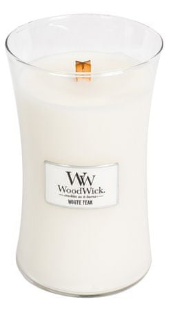 Woodwick świeca zapachowa White Teak 609,5 g