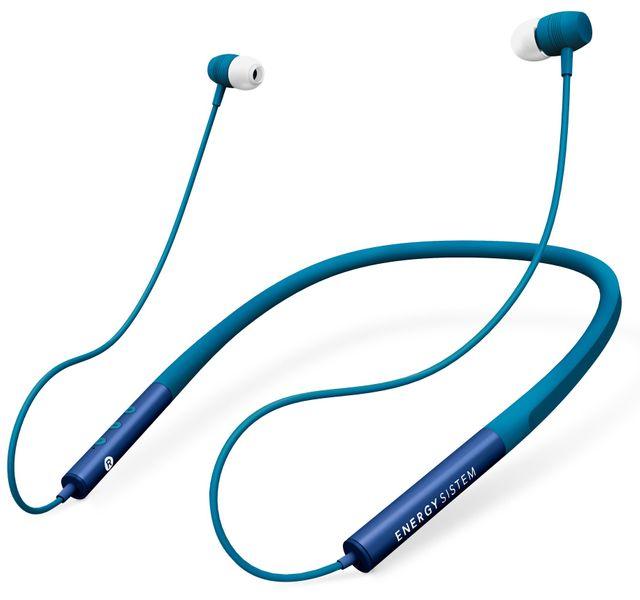 Energy Sistem Earphones Neckband 3, modrá