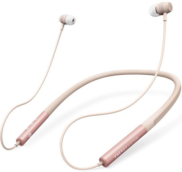 Energy Sistem Earphones Neckband 3, světle růžová