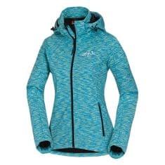 Northfinder jakna s kapuco Melange Lilu, ženska, modra