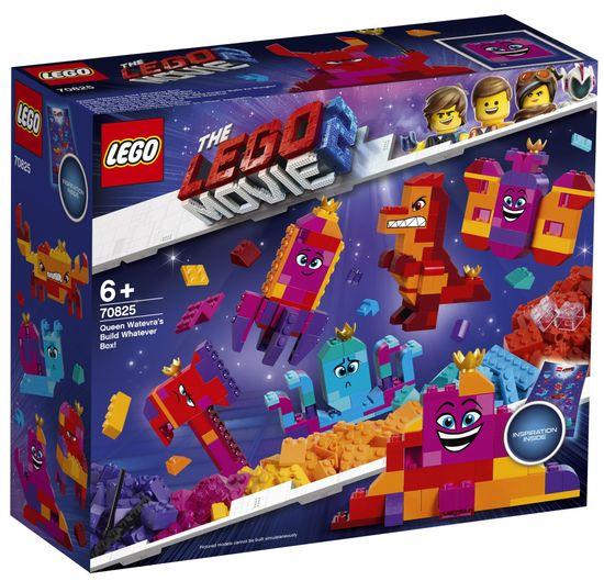 LEGO Movie 70825 Različni modeli kraljice Libovuli!