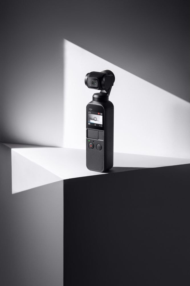 DJI OSMO Pocket stabilizátor s vestavěnou kamerou 4K/60fps - rozbaleno