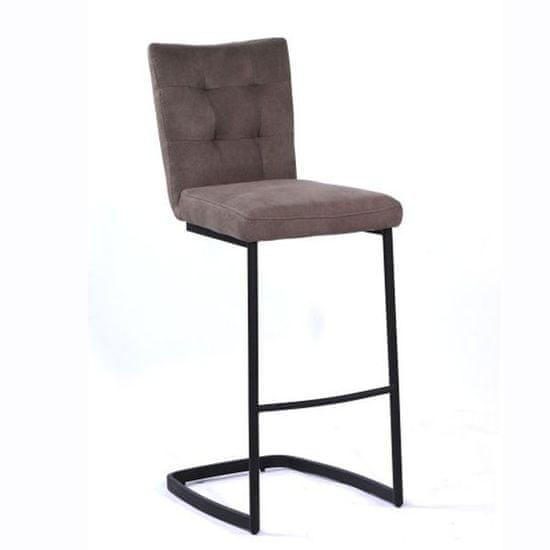 Barski stol Xara, rjav
