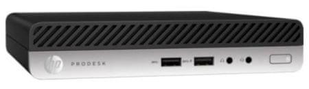 HP namizni računalnik ProDesk 400 G4 DM i3-8100T/8GB/SSD256GB/W10P (4CZ92EA)