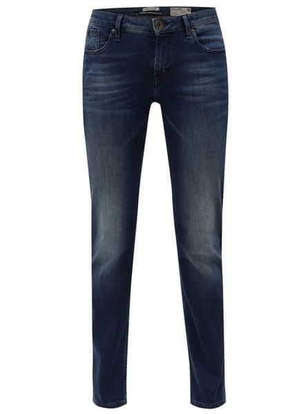 0a16f15c29d Garcia Jeans tmavě modré dámské straight džíny s vyšisovaným efektem  Rachelle M