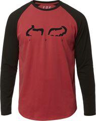 FOX pánske tričko Strap Ls Airline Tee