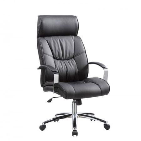 pisarniški stol Manim, črn