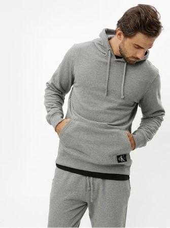 Značka  Calvin Klein Jeans Náš kód  100003024857. šedá pánská mikina s  kapucí XL 919bb143c73