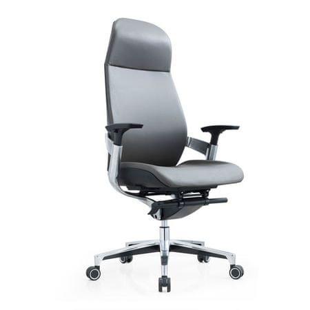 pisarniški stol Narls, siv