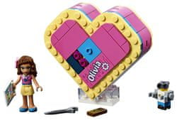LEGO zestaw klocków Friends 41357 Pudełko w kształcie serca Olivii