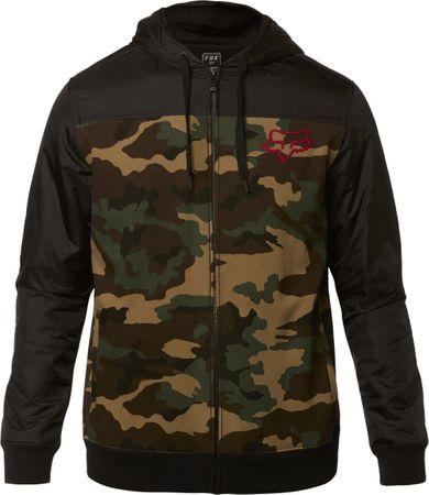 FOX pánska bunda Pivot Zip Fleece M čierna - Parametre  48c55c63097