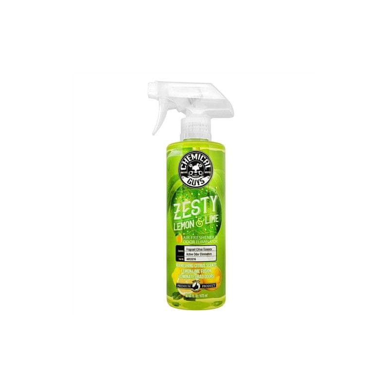 Chemical Guys Zesty Lemon and Lime Air Freshener and Odor Eliminator (16oz)
