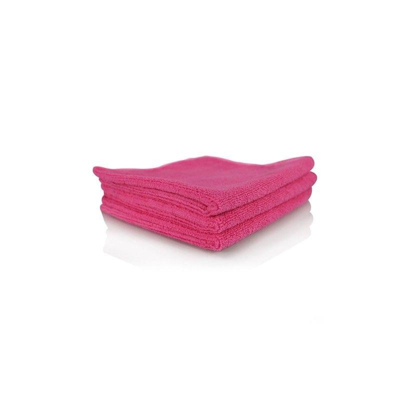 Chemical Guys Super Fine Pink-Mikrovláknová utěrka růžová (3 kusy)