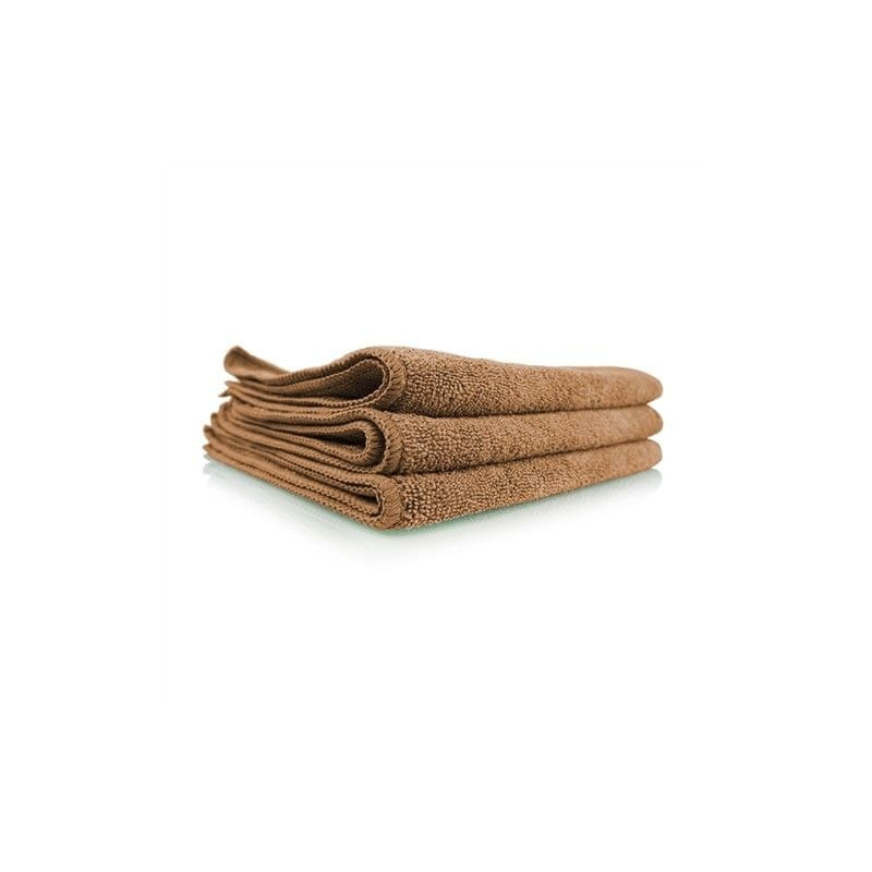 Chemical Guys Workhorse Tan Professional Grade Microfiber Towel (3 kusy)