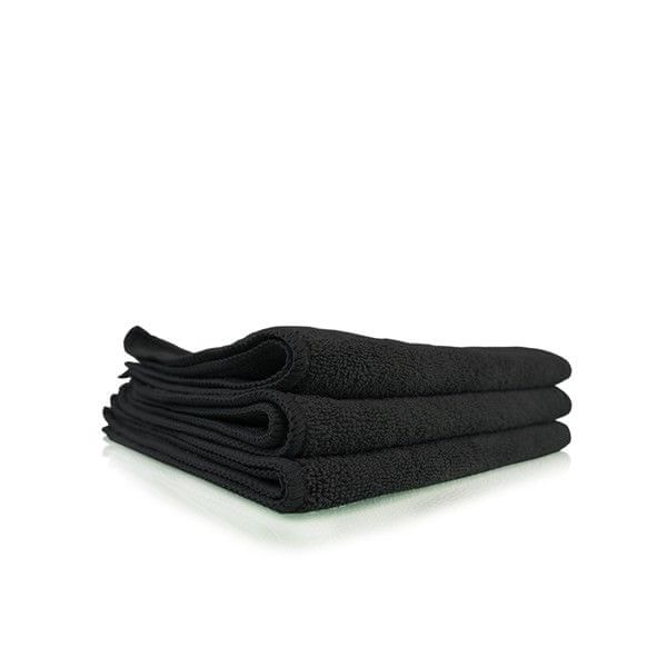 Chemical Guys Workhorse Black Professional Grade Microfiber Towel (3 kusy)