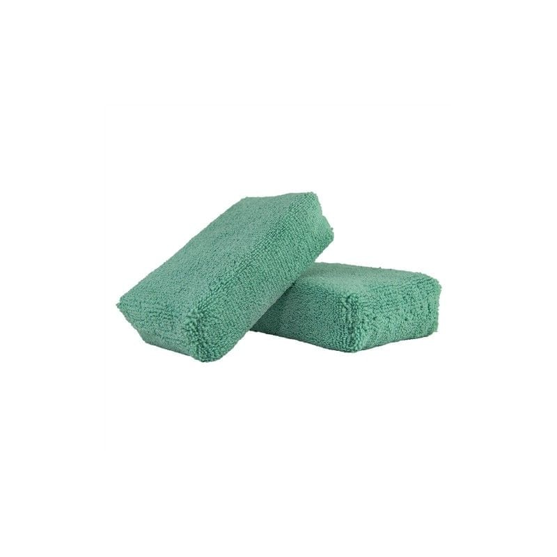 Chemical Guys Workhorse Green Premium Grade Microfiber Applicator (2 kusy)