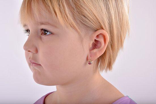 Cutie Jewellery Dzieci kolczyki C2008-10-40-X-1