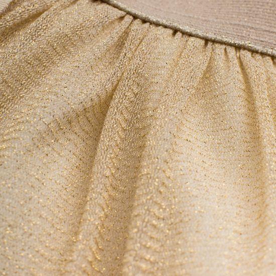 PINOKIO dívčí metalická sukně