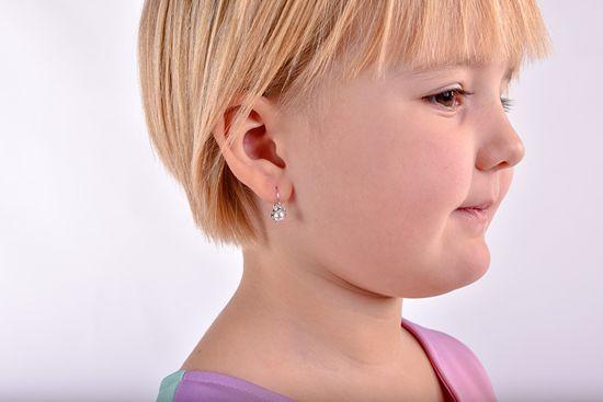 Cutie Jewellery Dzieci Kolczyki C2399-10-4-S-2
