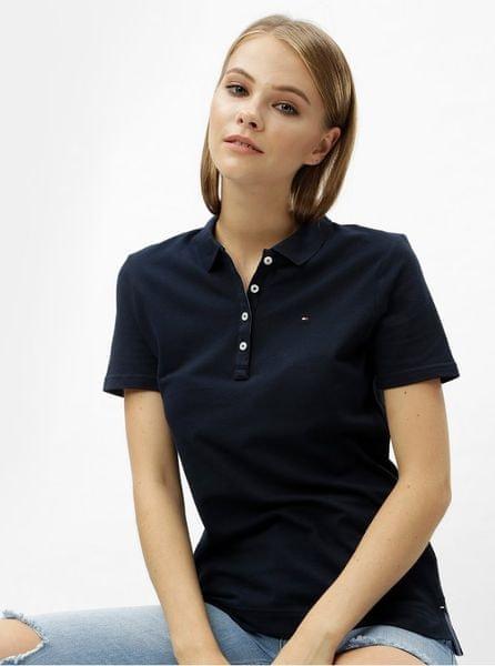 Tommy Hilfiger tmavě modré dámské polo tričko M
