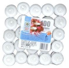 M.A.T. Group čajová svíčka bílá 100 ks