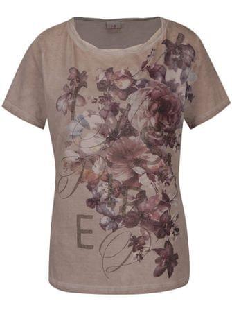 e4c30d7ab1b2 Deha béžové tričko s potiskem XL