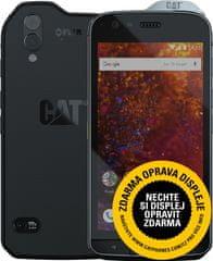 CAT S61, termikus kamera, levegőminőség érzékelő, lézeres mérés, IP68, MIL-Spec 810G