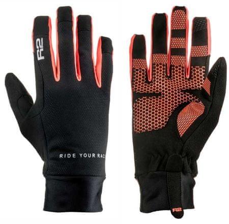 R2 rękawice sportowe Cruiser Black/Neon Red 10
