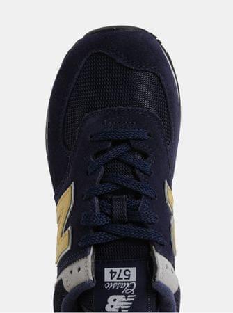 New Balance modré pánské semišové tenisky 42  4b81366fc2