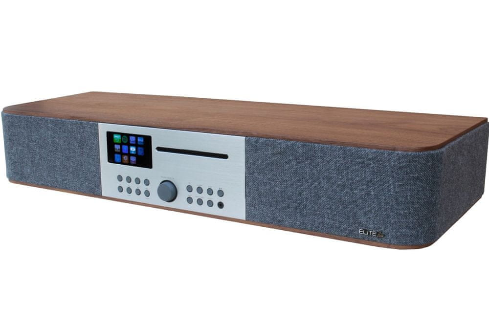 Soundmaster ICD2018, hnědá/šedá