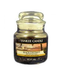 Yankee Candle Classic malý 104 g Čierny kokos