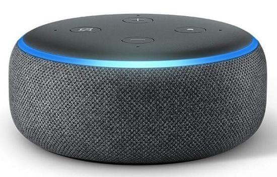 Amazon Echo Dot 3. generace, Charcoal - zánovní