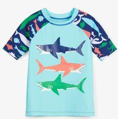 Hatley koszulka do pływania chłopięca UV 50+