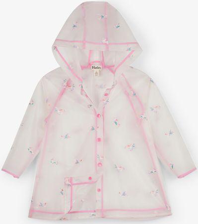 Hatley dziewczęcy płaszcz przeciwdeszczowy 92 biały