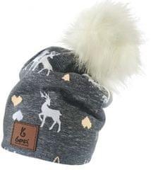 Bexa czapka dziewczęca Renifer Winter