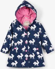 Hatley dívčí nepromokavý kabát měnící barvy