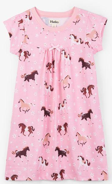 Hatley dívčí noční košile 134 140 růžová b8f1dfbcdd