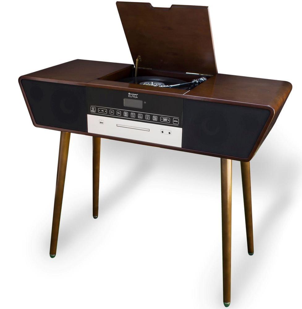 Soundmaster NR995, hnědá