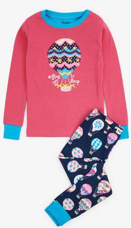 Hatley dekliška pižama, 92, večbarvna