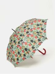 Rainy Seasons růžovo-krémový květovaný deštník