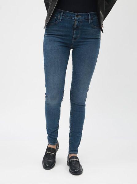 Levis modré dámské super skinny džíny® 720 M