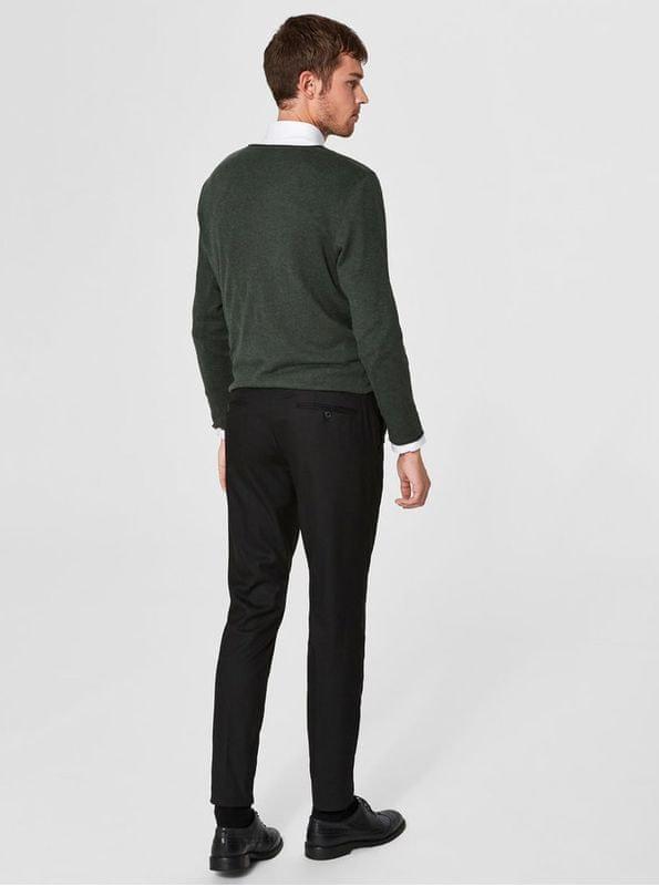 b09c4a2edab ... S 2 - Selected Homme černé kalhoty Slim ...